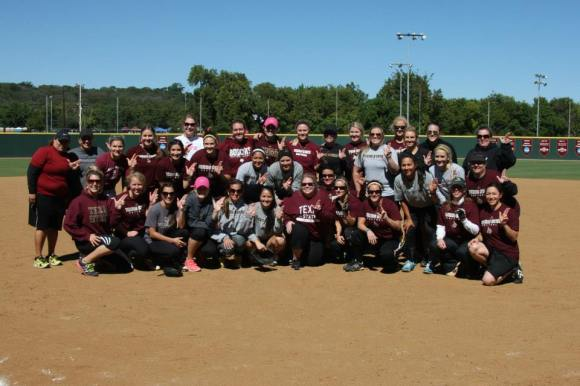 Bobcat Softball Alumni Game 2013